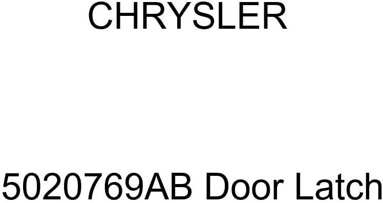 Genuine Chrysler 5020769AB Door Latch