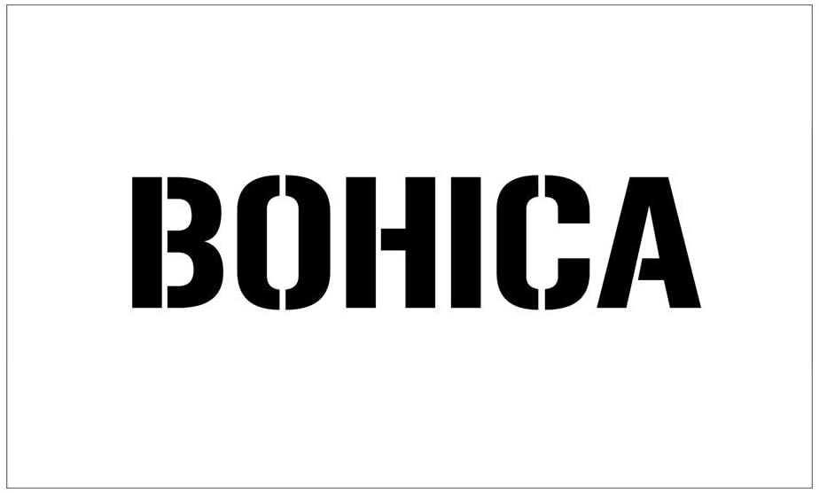 CNW Studio Bohica Decal Vinyl Bumper Sticker 5