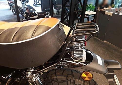 Chrome rear rack luggage carry for honda z125 all new monkey 2019 2020 (Black)