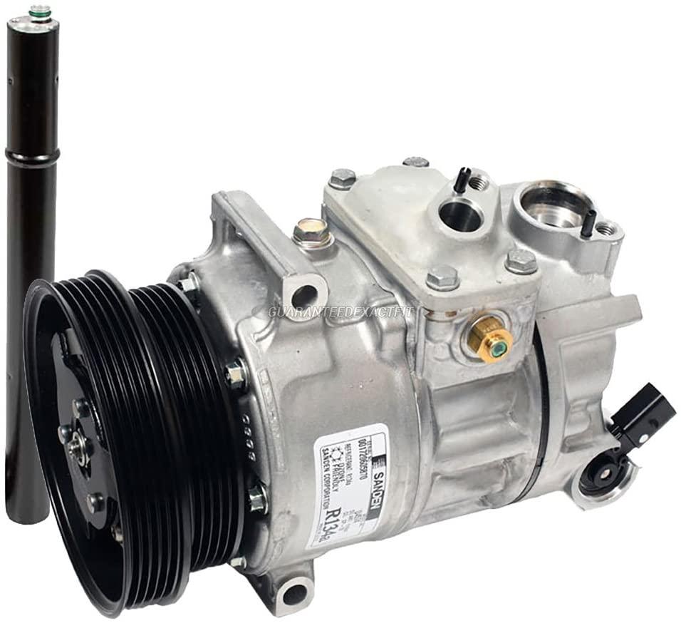 For VW Jetta Rabbit Golf GTI Audi TT Quattro OEM AC Compressor w/A/C Drier - BuyAutoParts 60-88172R4 New