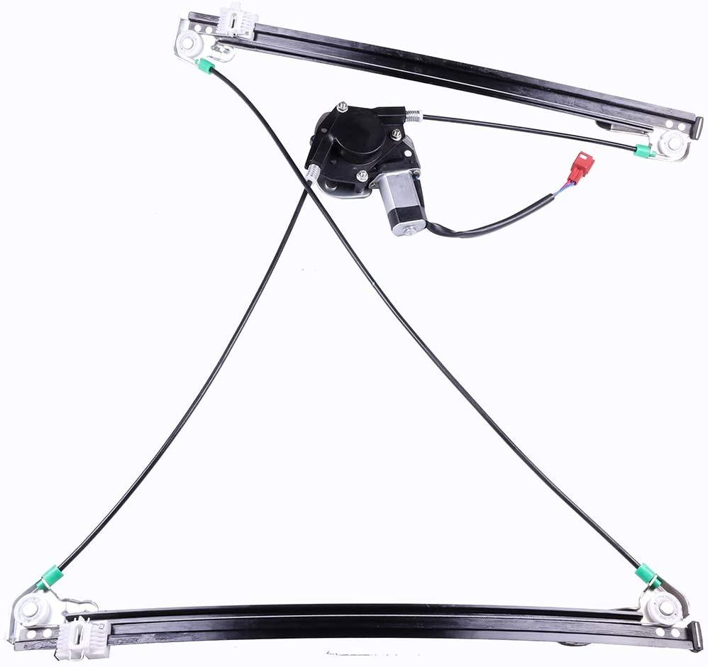 741-551 4675586AB Front Right Passenger Side Power Window Regulator with Motor Compatible for 1996-2000 Chrysler 1996-2000 Dodge 1996-2000 Plymouth