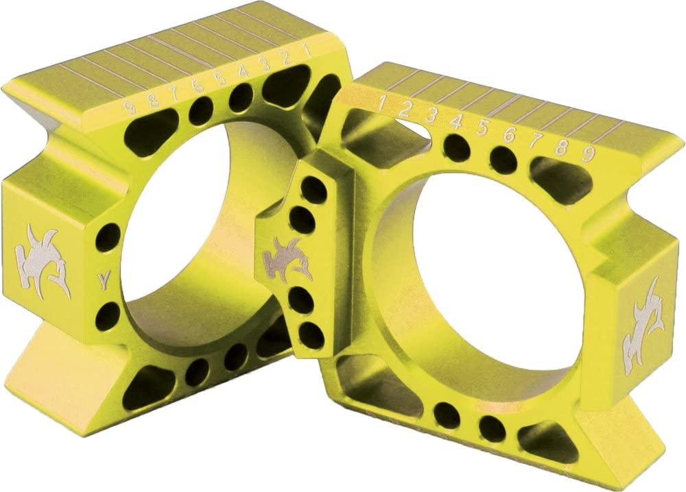 Hammerhead Designs Axle Blocks - Gold RMZAB GLD -REP ABS