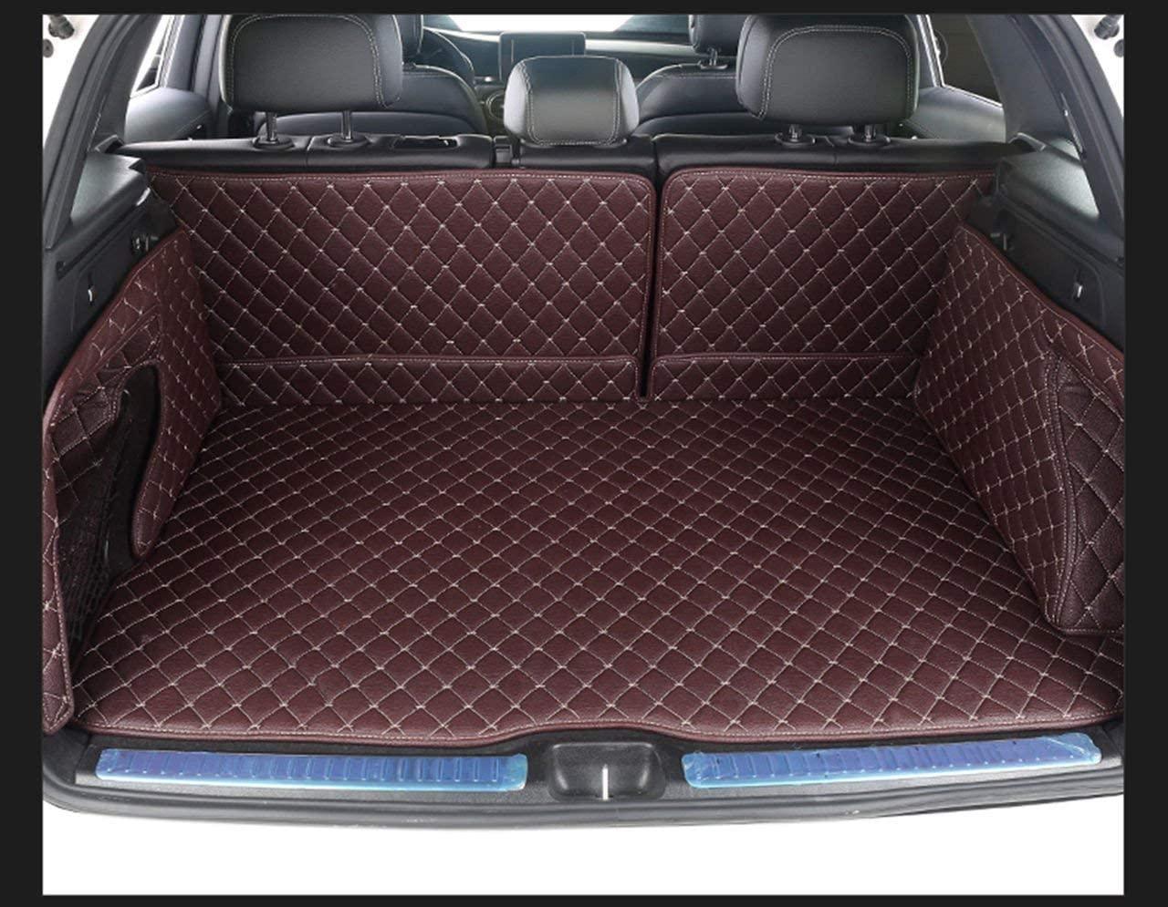 Bonus-Mats Custom Fit All-Weather Full Coverage Waterproof Car Cargo Liner Trunk Mat for Mercedes Benz G Class G550 G63 2019-2020 Coffee