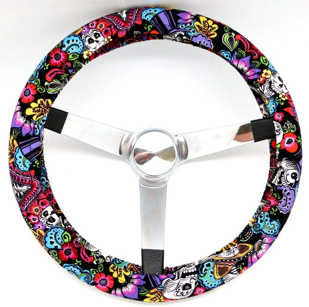 Mana Trading Steering Wheel Cover Chiquita Day of The Dead