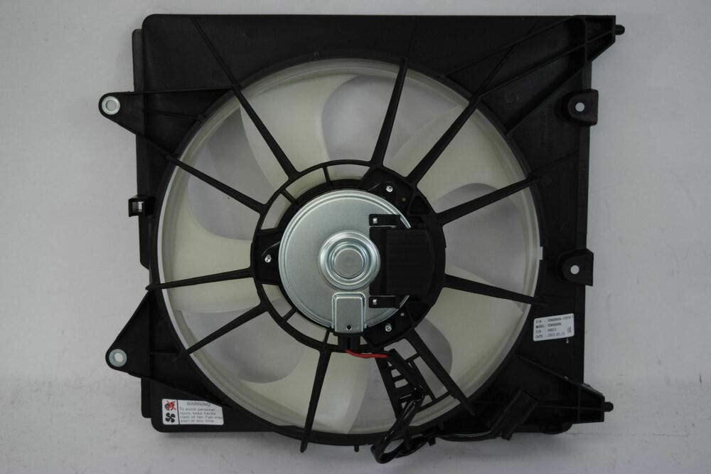 Value Radiator Cooling Fan Assembly For Honda Fit