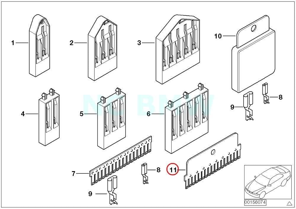BMW Genuine Comb Type Connector