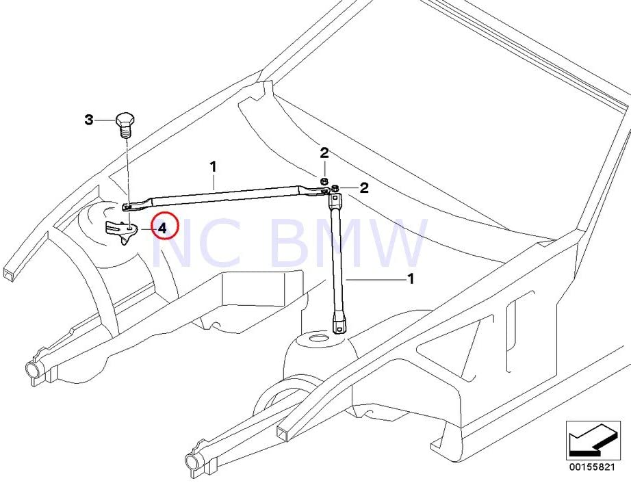 BMW Genuine Mount For Strut Brace