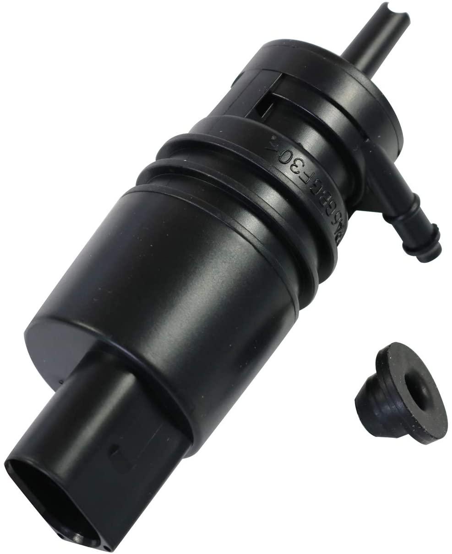 JDMSPEED New Windshield Washer Pump Replacement For Audi A3 A4 A6 TT VW Jetta CC Passat Phaeton W/Grommet