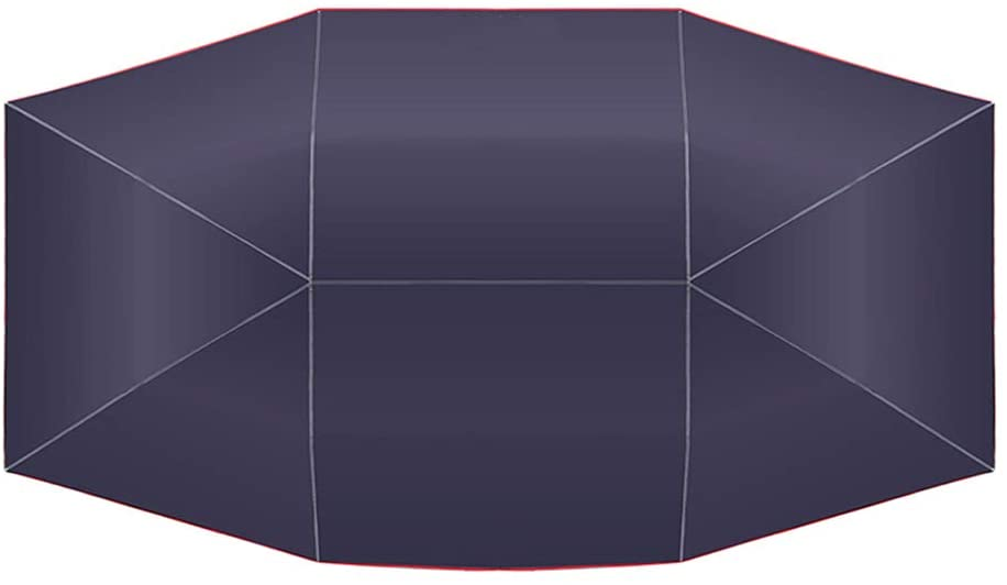 Tickas Car Umbrella,Car Umbrella Sunshade Cover Tent Oxford Cloth 4 2.1M Universal Navy UV Protection