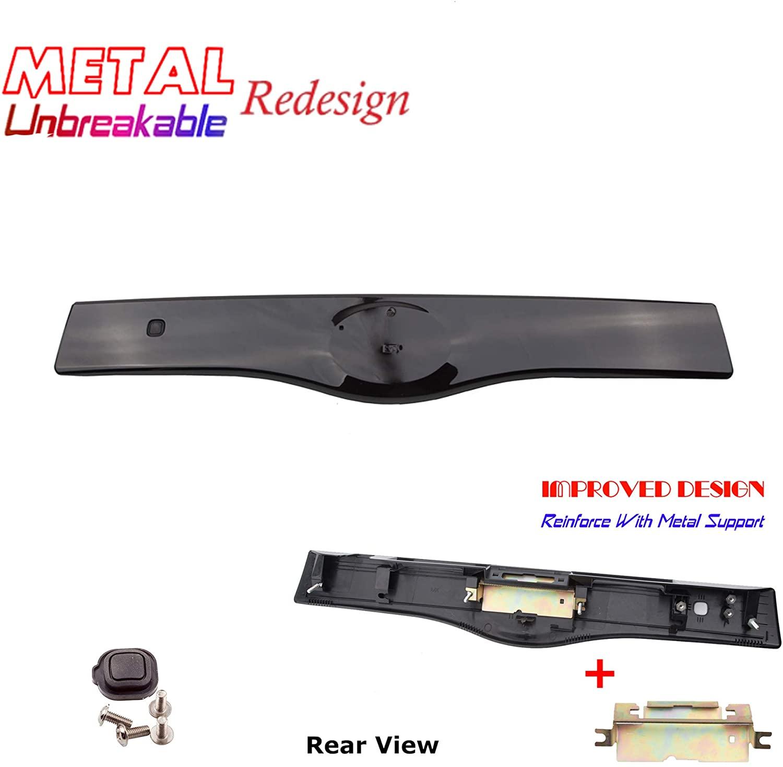 Rear Exterior Tailgate Liftgate Handle Garnish For Toyota 04-09 Prius 202 Black 2004 2005 2006 2007 2008 2009