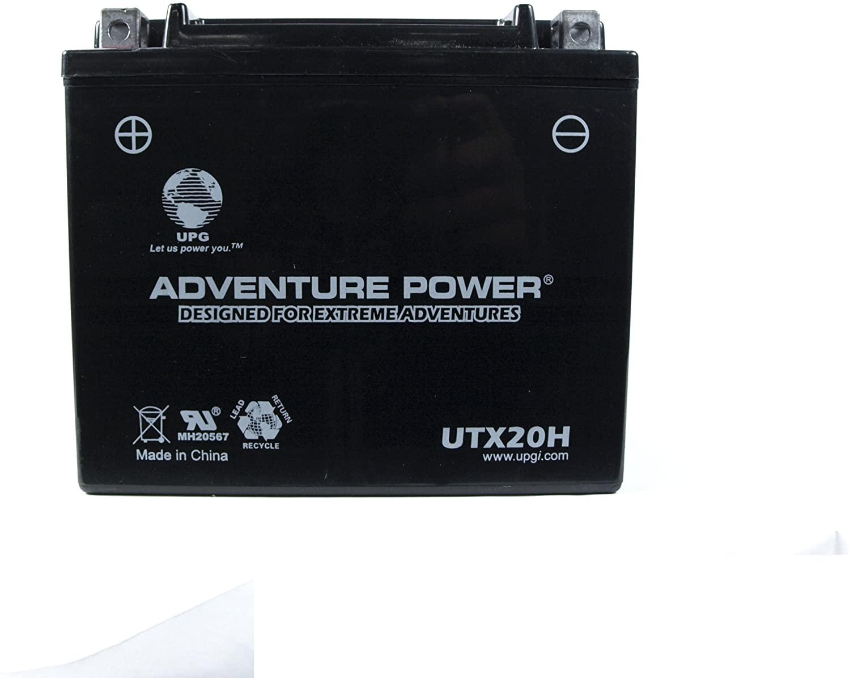 UPG UTX20H Adventure Power Power Sport AGM Series Sealed AGM Battery