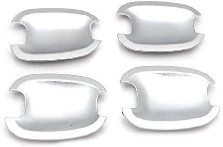 AOWIFT 4pcs/set Accessories Chrome Door Handle Bowls Trims,Fit for 2009-2011 Chevy Spark