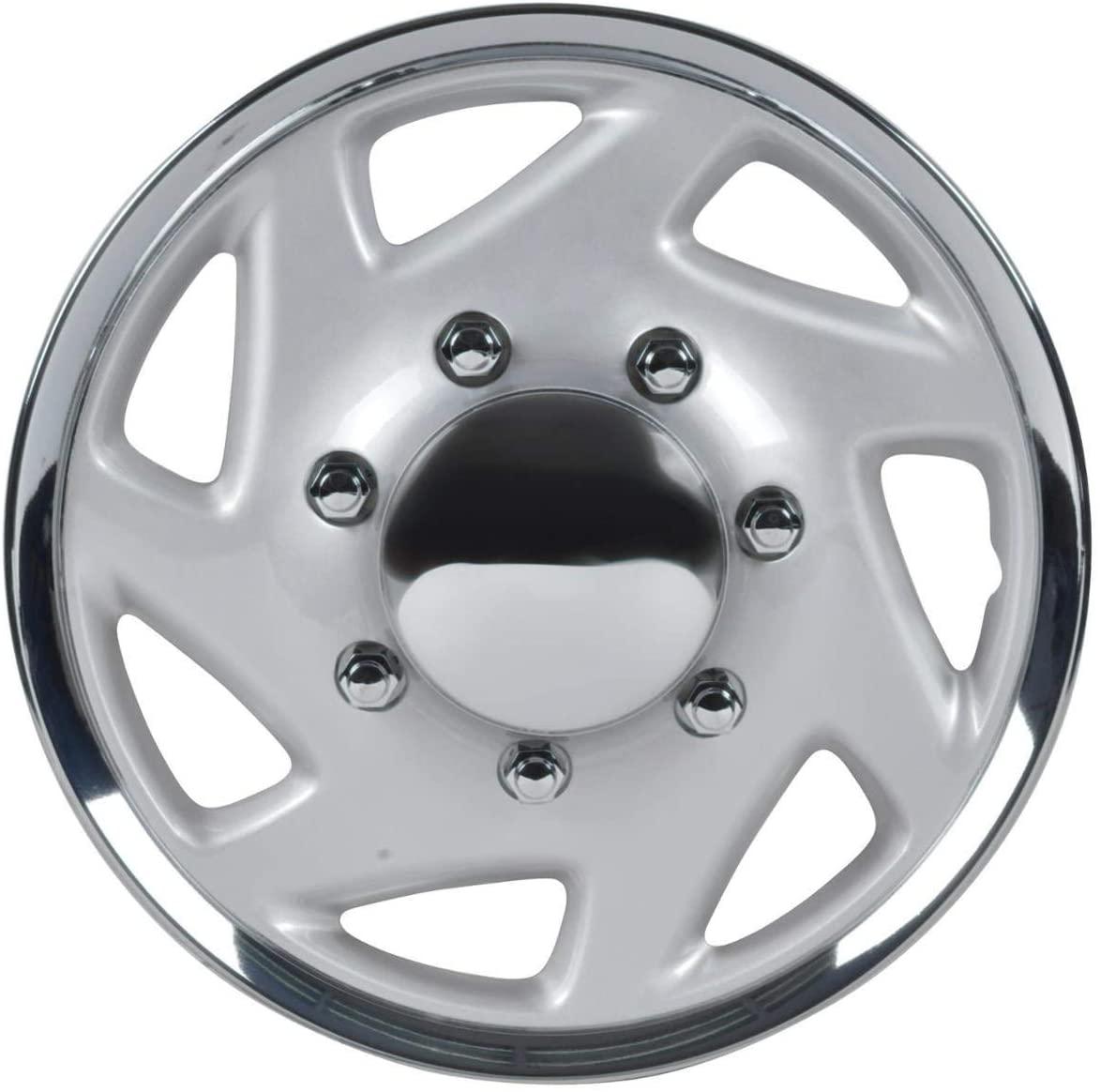 BDK (1Pc Replacement) Premium 16 Inch Hubcap 16