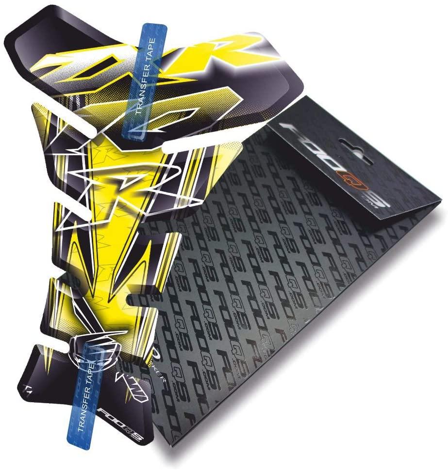 Fooqs Tankpad for Kawasaki Zx10r Zx 10r (Yellow)