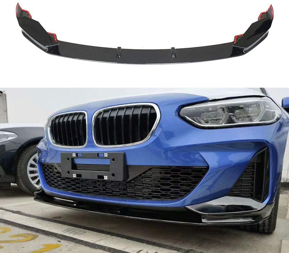 JC SPORTLINE F40 PP M Tech Front Lip, fits BMW 1 Series F40 118i 120i M Sport Sedan 4D 2019 UP PP Front Chin Spoiler Air Dam Protector