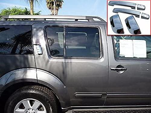 QAA fits 2004-2015 Nissan Armada 6 Piece Chrome Plated ABS Plastic Door Handle Cover Kit DH24528