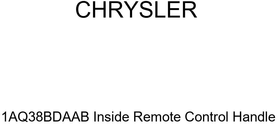 Genuine Chrysler 1AQ38BDAAB Inside Remote Control Handle