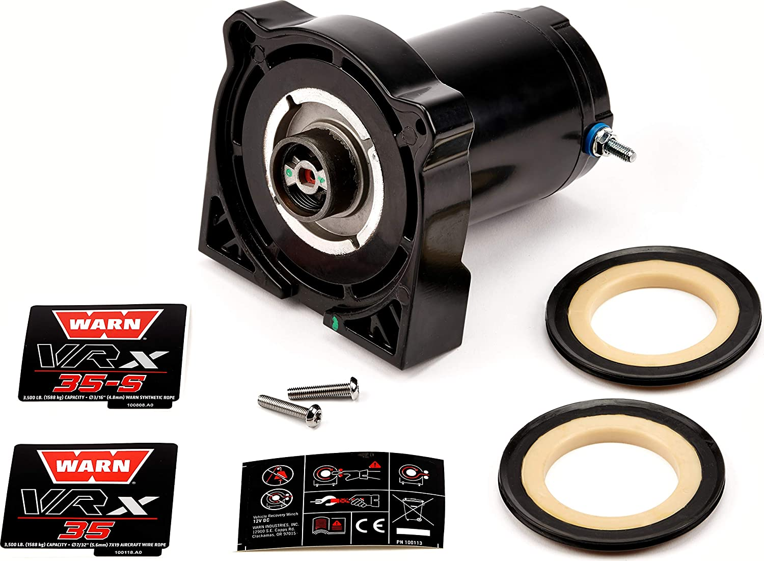 WARN 101033 Winch Motor Replacement Kit, Fits: VRX 35