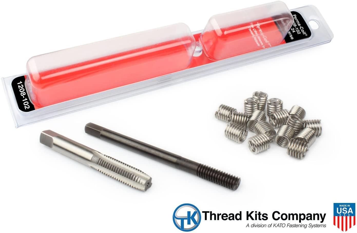 Perma-Coil 1208-102 Thread Repair Kit 12-24 12PC Helicoil 5401-1