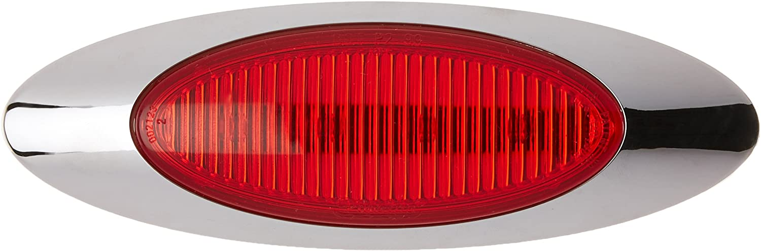 Grote 45582 M1 Series Red M1 Series LED Clearance Marker Light, 0.180 Molded Bullet with Bezel, Yellow (0.180 Molded Bullet with Bezel)