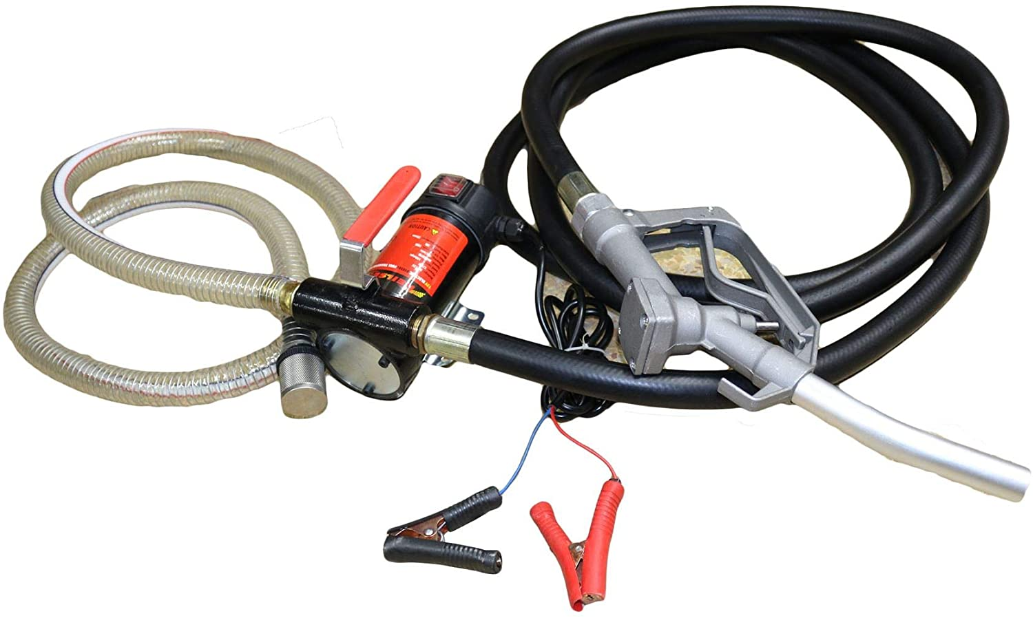 AB Tools-Neilsen 12V Electric Battery Powered Diesel Oil Fuel Fluid Transfer Pump Extractor
