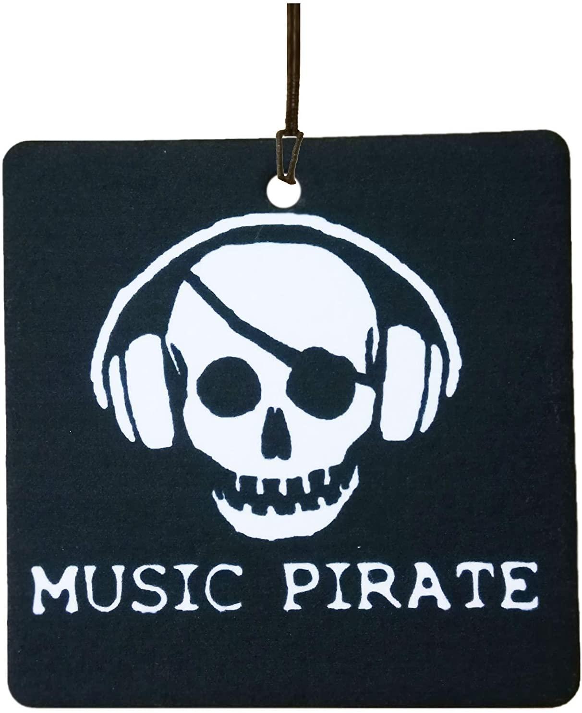 Music Pirate Car Air Freshener