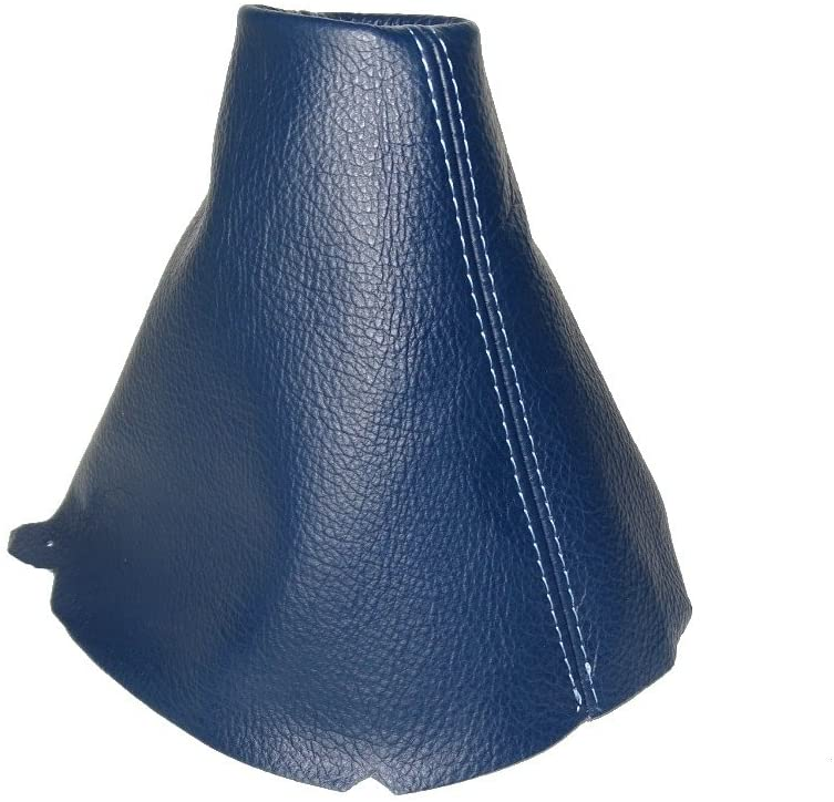 FOR VOLKSWAGEN UP 2011+ SHIFT BOOT BLUE LEATHER