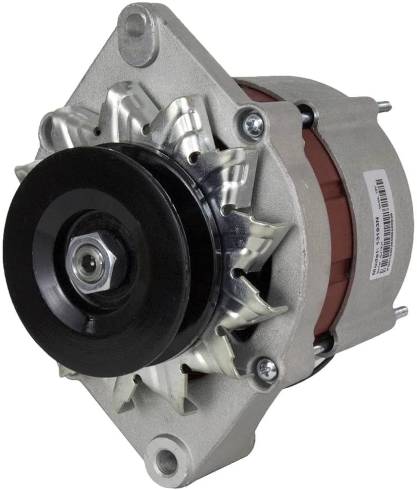 Rareelectrical NEW 12 VOLT 55 AMP ALTERNATOR COMPATIBLE WITH JOHN DEERE UTILITY TRACTOR 830 840 930 TY6652 TY6791
