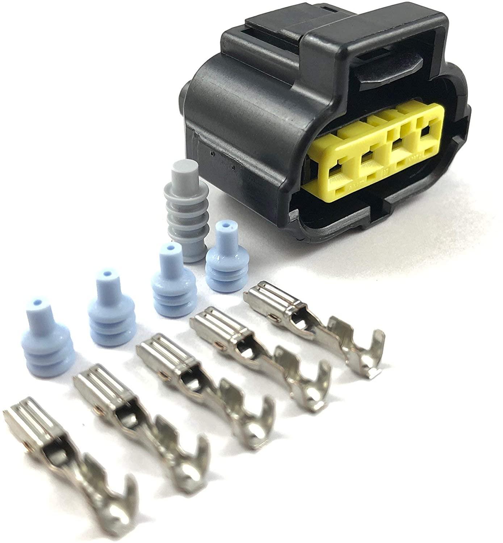 4-Pin Connector Kit for Toyota Supra 2JZ-GTE Throttle Position (TPS) Sensor Plug Clip