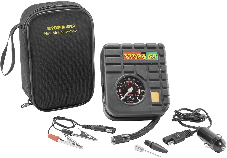 Stop And Go Int'l Mini Air Compressor Rcp New