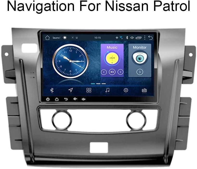 gaoweipeng for Nissan Patrol 2018-2019 Car GPS Navigation System Satellite Navigator Player Tracker Bluetooth Auto Radio FM/Radio WiFi/Bluetooth/TF/USB/AUX/Touch Screen