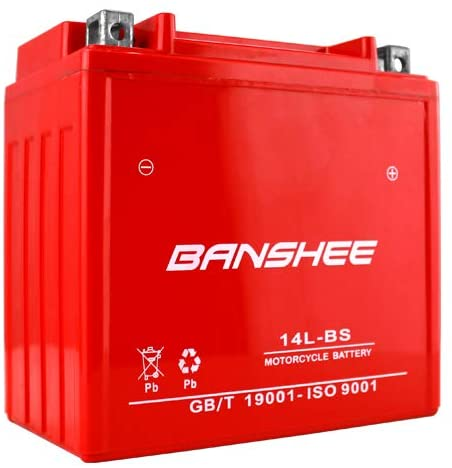 YTX14L-BS High Performance - Maintenance Free - Sealed AGM Motorcycle Battery 4 Year Warranty