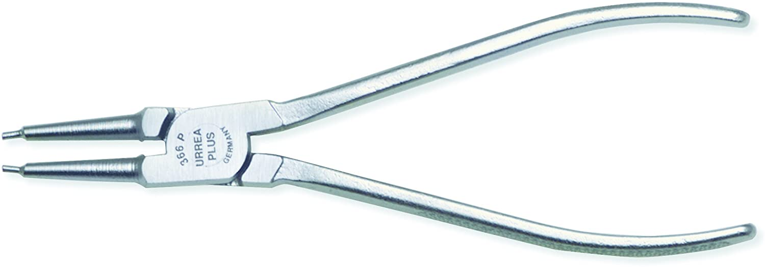 URREA Interior Retaining Ring Closing Pliers - Forged Steal Spring Loaded Handles with 0