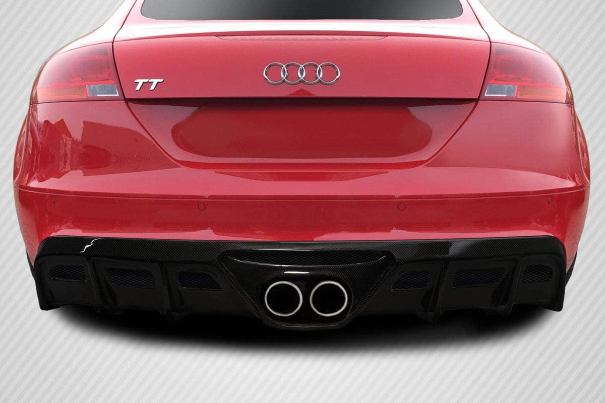 Compatible With/Replacement For Carbon Creations ED-BDF-161 TKR Rear Lip/Add On - 1 Piece - Compatible With/Replacement For TT 2008-2015