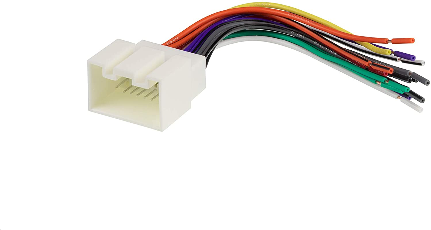 Scosche FD16B Wire Harness to Connect an Aftermarket Stereo Receiver for Select 1998-2009 Ford Vehicles