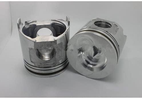 GOWE piston For Yanmar engine parts S4D106 4D106 4TNE106 piston + piston ring 123900-22080 123901-22080 for Komatsu loader