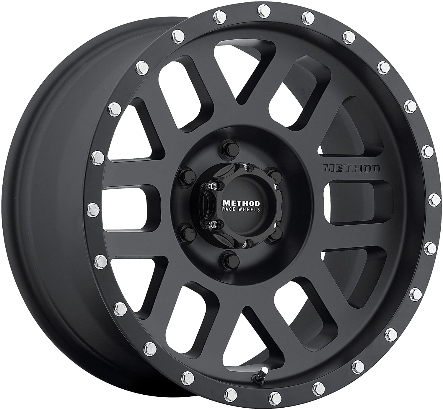 Method Race Wheels 306 Mesh Matte Black 17x8.5 6x5.5, 0mm Offset 4.75