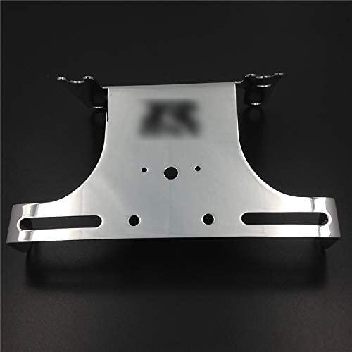 XKMT-Chromed Fender Eliminator Tidy Tail Compatible With 2006-2007 Suzuki Gsxr 600 Gsx-R750 [B00YWCS874]
