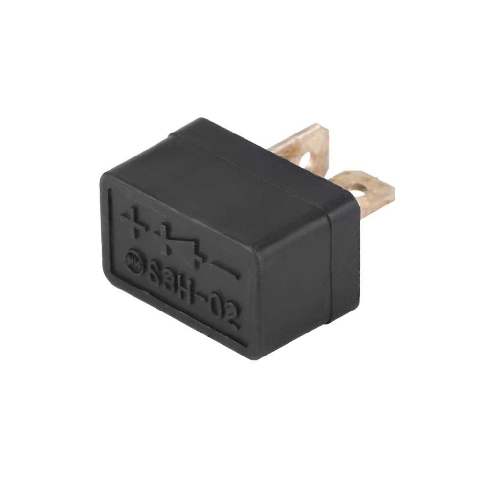 Rectifier Diode 31700-124-003 Black ABS Plastic for Hon da TRX500FA Foreman Rubicon 2001-2004, 31700-124-008 (1 Piece)