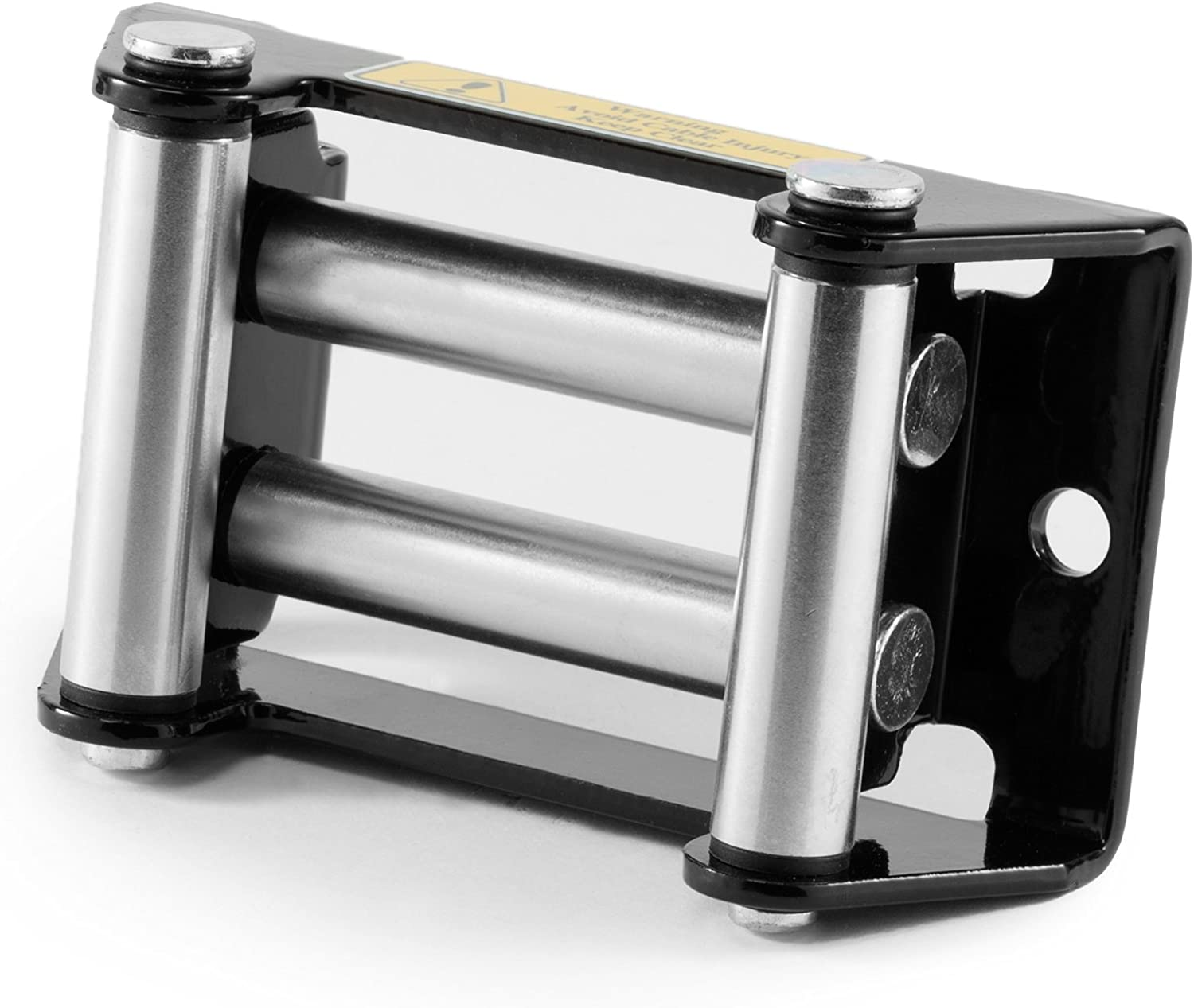 ATV Winch Roller Fairlead - 4 1/4 in. Bolt Pattern - by Driver Recovery Products