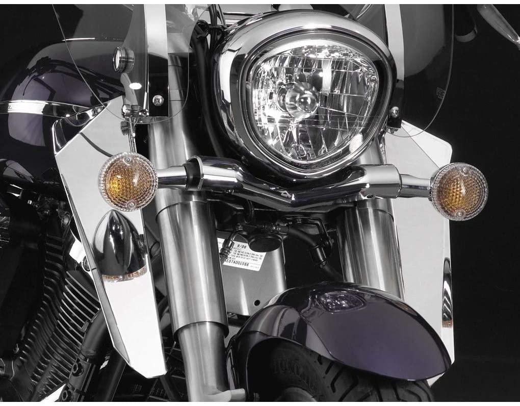 National Cycle Lower Deflectors Chrome for Kawasaki Vulcan 1600