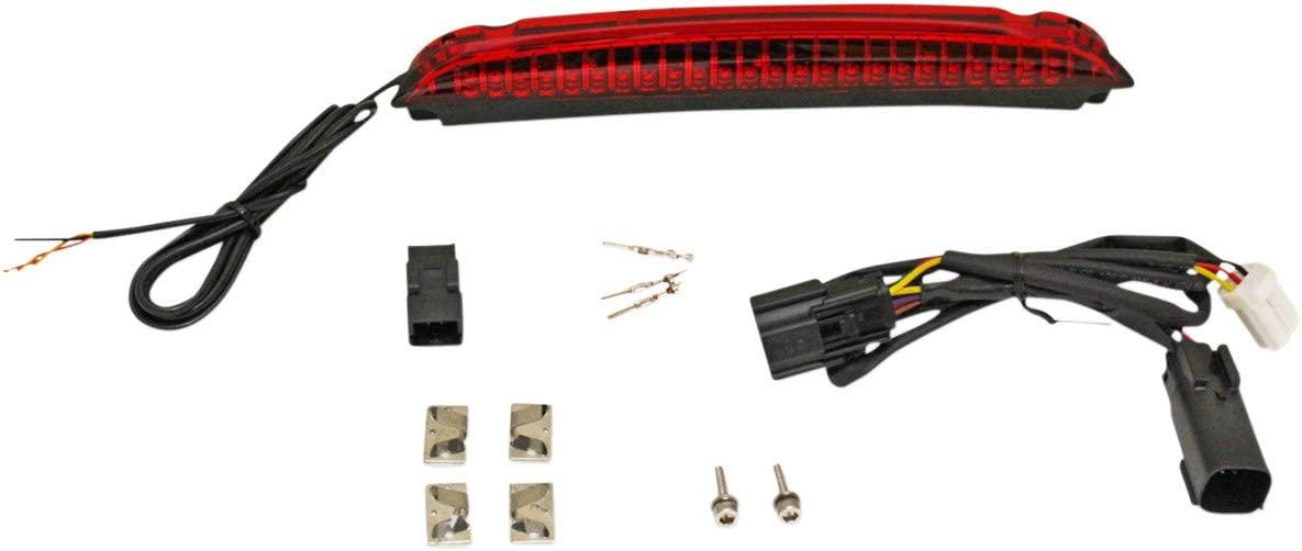 Custom Dynamics CD-LR-01-R Luggage Rack Led Light Bars - Red Lens