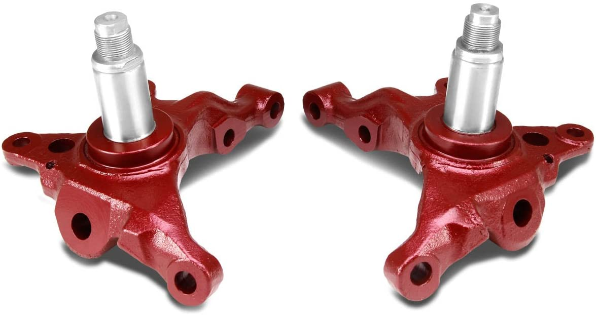 DNA Motoring SAK-240SX-S14-RD Massive Angle Steering Knuckle Kit