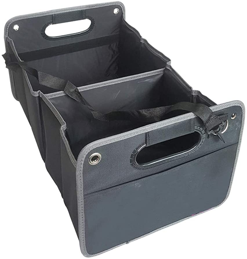 Trunk Organizer for Car Organizers and Storage Trunk Organizer Collapsible & Waterproof Car Trunk Storage,Multipurpose Portable Storage Bin and Carrier for Car