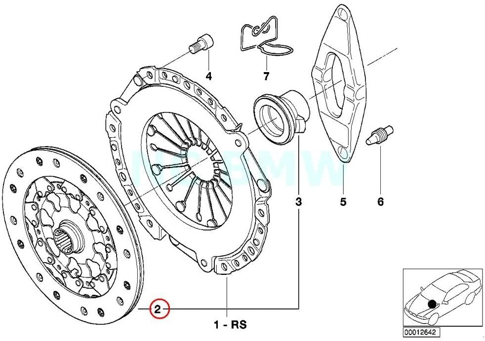 BMW Genuine Clutch Plate