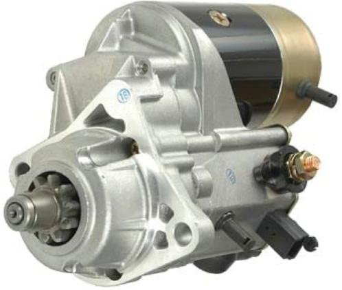 Rareelectrical NEW 12V 10T CW STARTER MOTOR COMPATIBLE WITH JOHN DEERE ENGINE 4039 4045 228000-0840 228000-0841