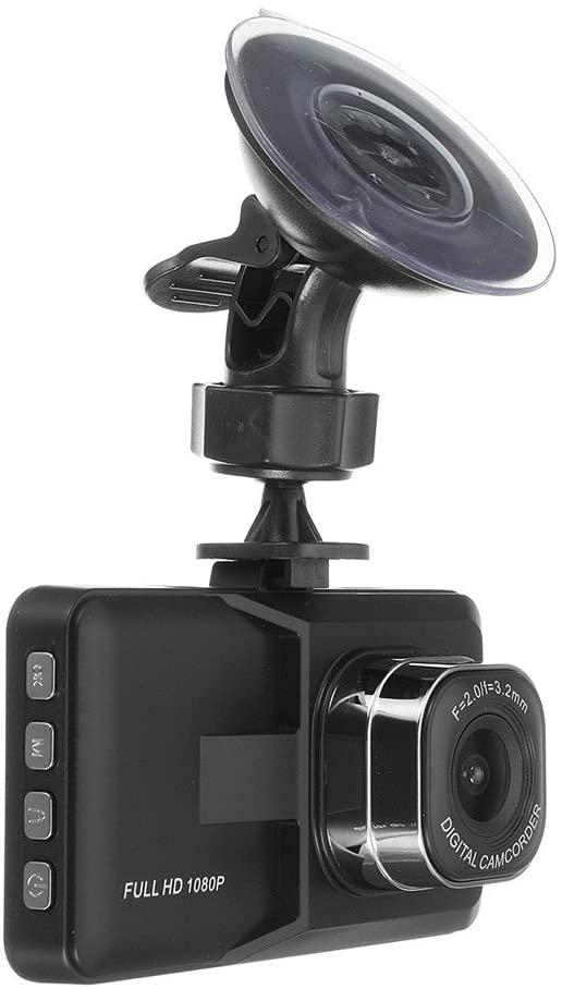 Bibite 2.4-Inch 1080P HD Night Vision Vehicle Recorder Camera Tachograph Loop Recording,140 Wide Angle Car Dashboard Camera,
