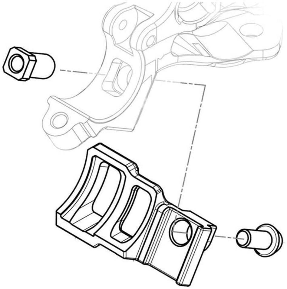 TRP Brakes TRP Shifter Adaptor i-Spec II, Left - PHD3402