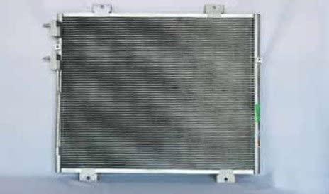 Rareelectrical NEW AC CONDENSER COMPATIBLE WITH DODGE 05-11 DAKOTA PFC 55056352AC P40433 CH3030216 3739 7-3666 P40433 55056352AC CH3030216 3739 7-3666 3193