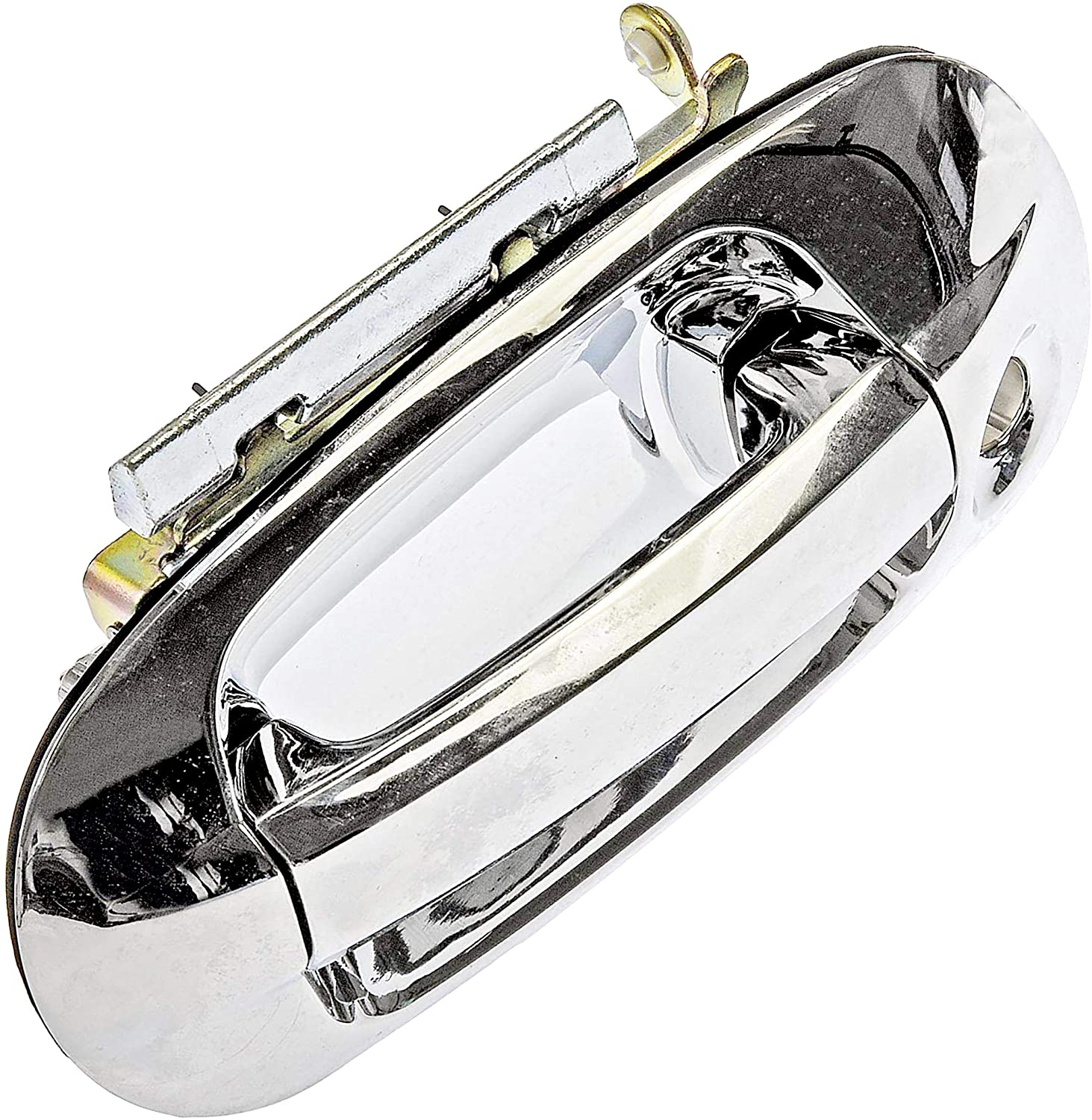 APDTY 143251 Exterior Door Handle Chrome Front Left (Driver-Side) Fits 2003-2015 Ford Expedition (Check Fitment Chart To Verify Fitment)